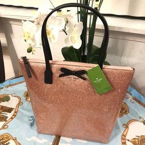 Kate spade Mavis Street Jeralyn Tote Glitter Bag